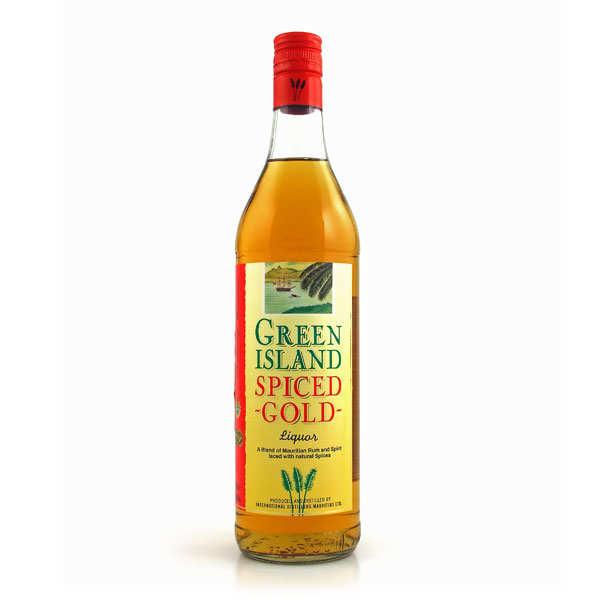 Rhum Green Island spiced gold de l'île Maurice