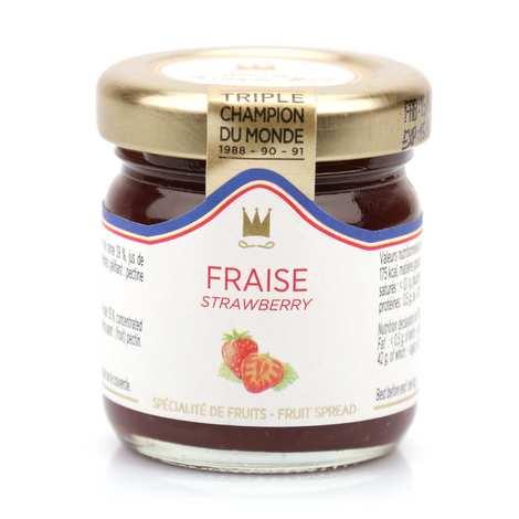 Maison Francis Miot - Confiture de fraise - Francis Miot