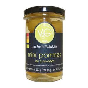 Vergers de Gascogne - Mini pommes rafraîchies au Calvados