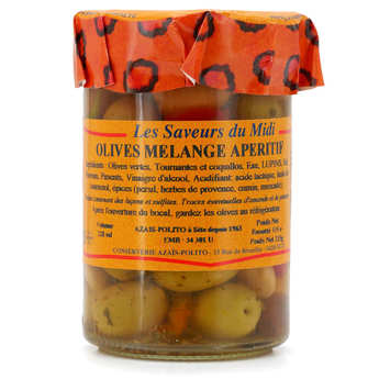 Azaïs-Polito - Olives mélange apéritif