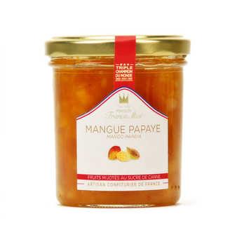 Maison Francis Miot - Confiture de mangue et papaye - Francis Miot