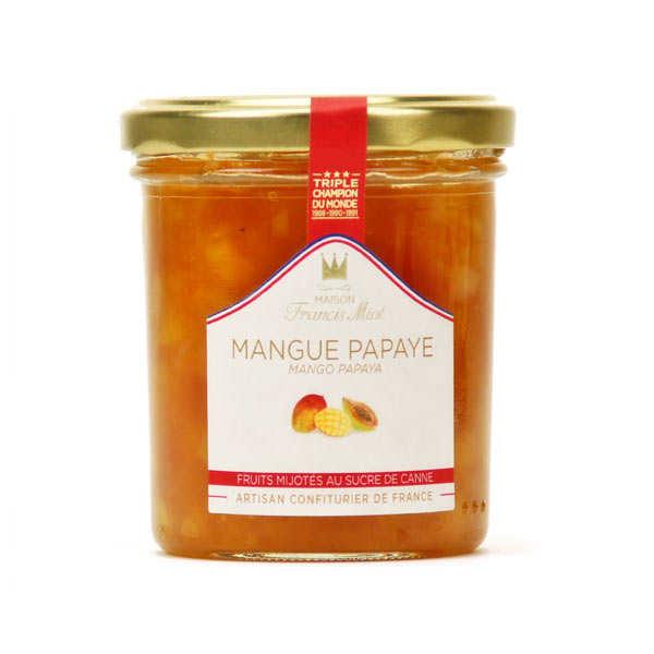 Confiture de mangue et papaye - Francis Miot