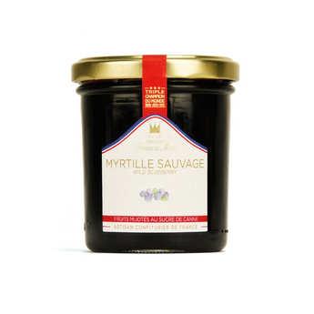 Maison Francis Miot - Blueberrie Mountain  Jam - Francis Miot