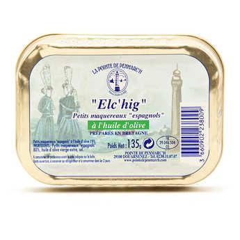 La pointe de Penmarc'h - Elc'hig - Petits maquereaux espagnols