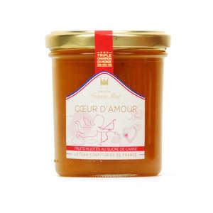 Maison Francis Miot - Confiture coeur d'amour (fruits exotiques, Champagne) - Francis Miot