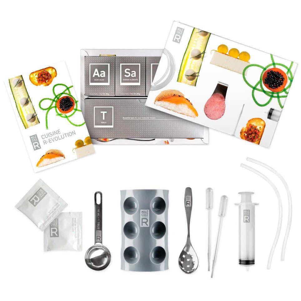 Kit de cuisine moléculaire R-évolution + Livre