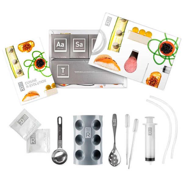 molecular gastronomy kit and book cuisine r evolution saveurs mol 201 cule r