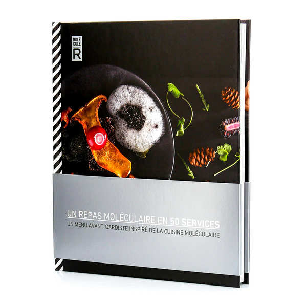 Molecular Gastronomy Kit and book- Cuisine R-Evolution