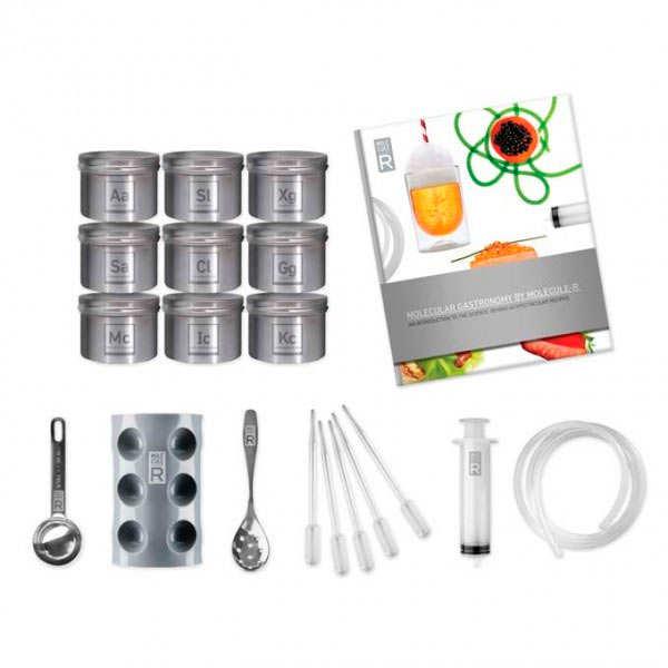 la cuisine molecul r kit de cuisine mol culaire dition deluxe saveurs mol cule r. Black Bedroom Furniture Sets. Home Design Ideas