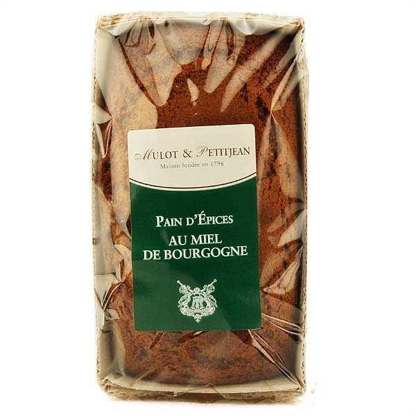 Pain d'épices au miel de Bourgogne