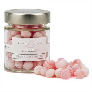 Mulot et Petitjean - Bonbons fraise coquelicot - Bernard Loiseau