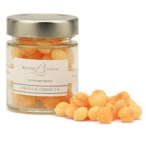 Mulot et Petitjean - Bonbons orange et hibiscus- Bernard Loiseau