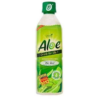 Aloe for Drink - Aloe & thé vert - boisson à l'aloe vera