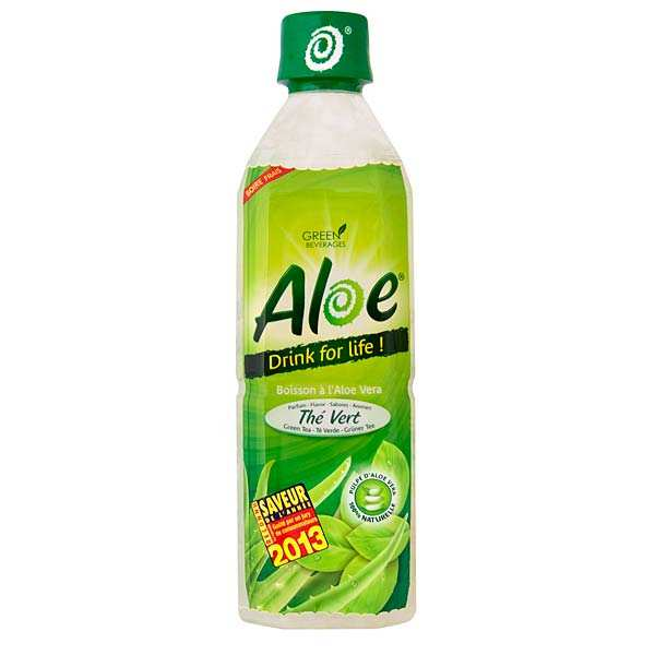 Green tea & Aloe - Aloe vera drink