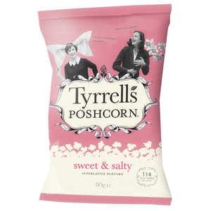 Tyrrells - Popcorns sucrés salés
