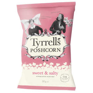 Tyrrells - Sweet and Salted popcorn