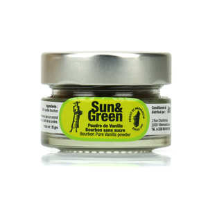 Sun & Green - Bourbon Vanilla powder from Madagascar