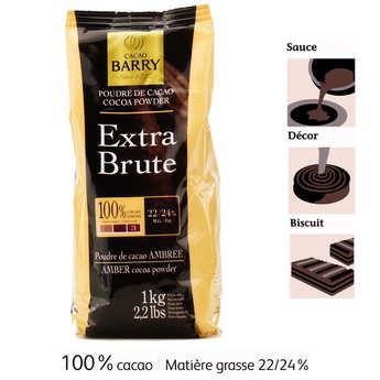 Cacao Barry - Poudre de Cacao extra brute - Cacao Barry