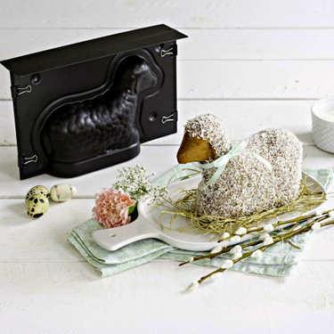 Moule 3D agneau Pascal