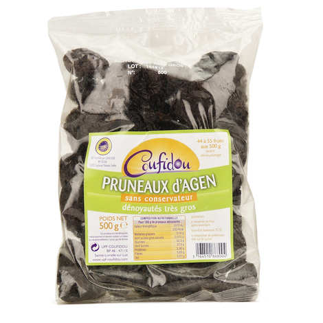 Coufidou - Whole pitted dried prunes