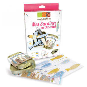 "ScrapCooking ® - Kit ""Je fais mes sardines en chocolat"""