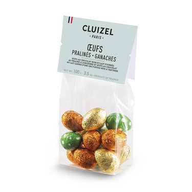 Easter Eggs Bag - praliné milk and dark chocolate