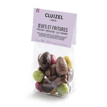 Michel Cluizel - Sachet de petits oeufs fourrés et friture de Pâques