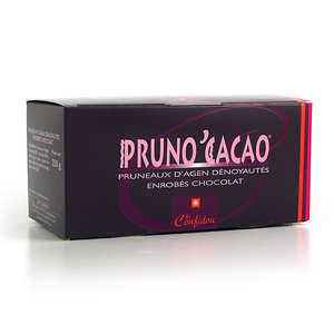 Coufidou - Chocolate Coated Prunes - Pruno'Cacao