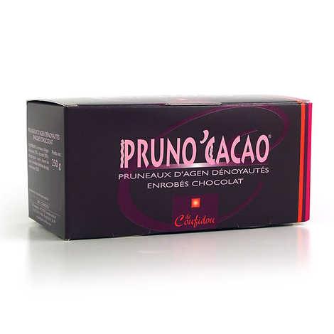 Coufidou - Pruneaux enrobés de chocolat - Pruno'Cacao