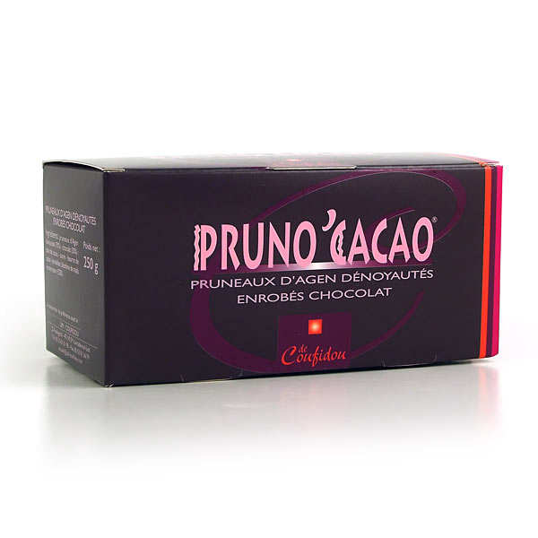 Chocolate Coated Prunes - Pruno'Cacao