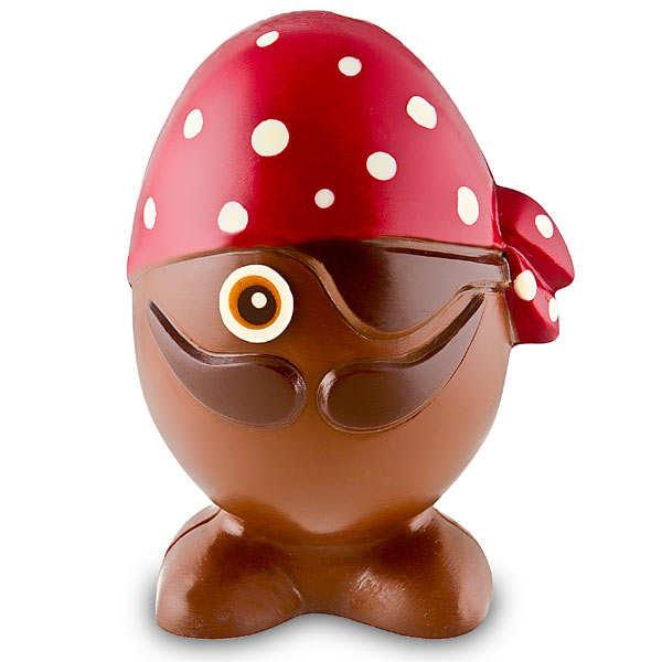 Chocolate egg - milk chocolate - 120g