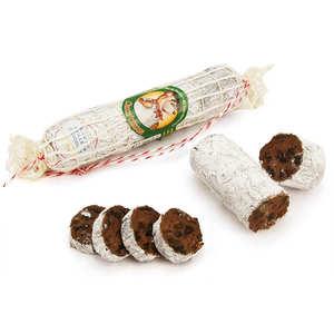 Maison Francis Miot - Chocolate sausage