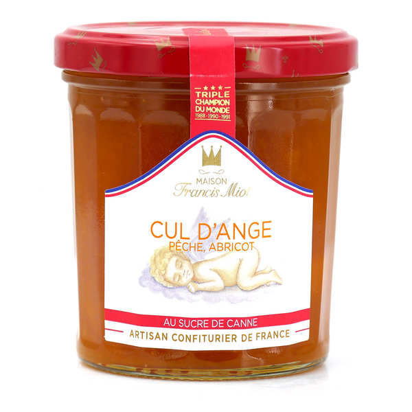 """Cul d'ange"" jam - peach and apricot - Francis Miot"