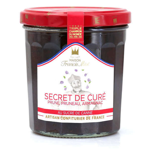 """Curé"" jam - plum, prune and armagnac - Francis Miot"