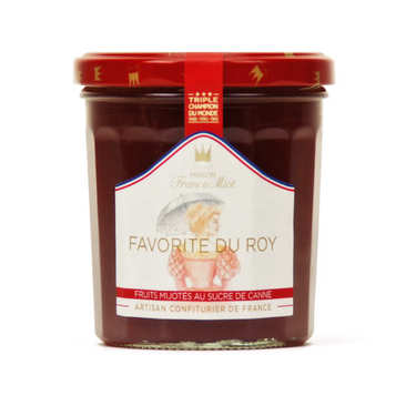 King's favorite jam - peach, apricot, raspberry - Francis Miot