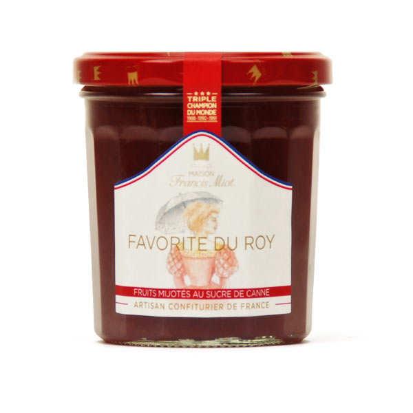 """Favorite du Roy"" jam - peach, apricot, raspberry - Francis Miot"