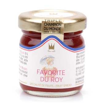 Maison Francis Miot - Confiture Favorite du Roy (pêche, abricot, framboise) - Francis Miot