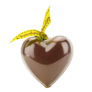 Bovetti chocolats - Bimbi - Organic Milk Chocolate Heart in reusable mould