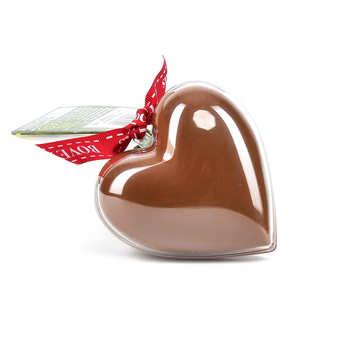 Bovetti chocolats - Bimbi - Organic Milk Chocolate Heart in reusable mould