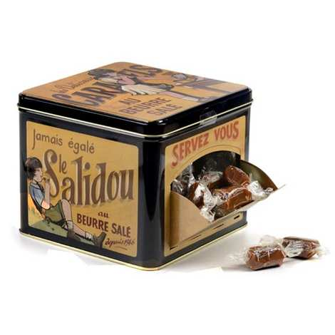 La Maison d'Armorine - Salted Butter Caramels from Brittany - Collector's Tin