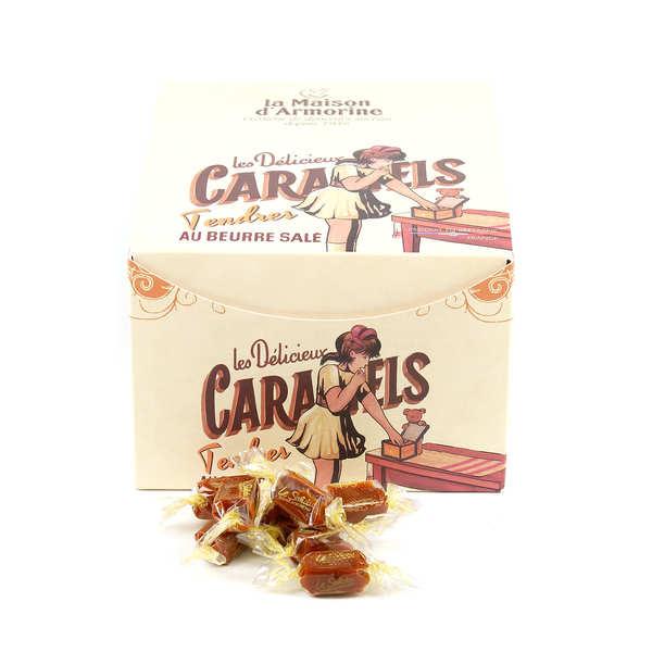 Caramels tendres au beurre salé - Boite distributrice collector