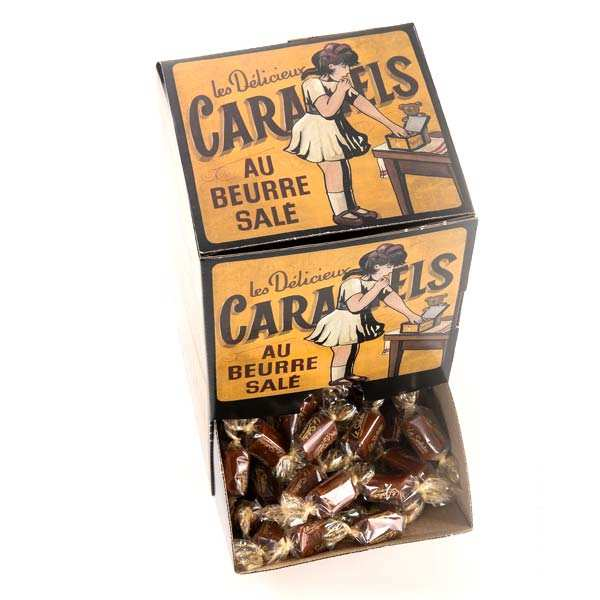 Salted Butter Caramels from Brittany - Collector's box - 1kg