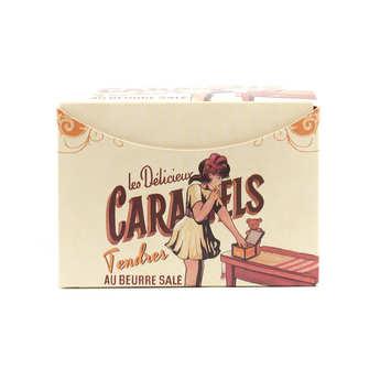 La Maison d'Armorine - Caramels tendres au beurre salé - Boite distributrice collector
