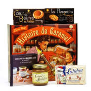 La Maison d'Armorine - Coffret dégustation Une Histoire de Caramel Salidou