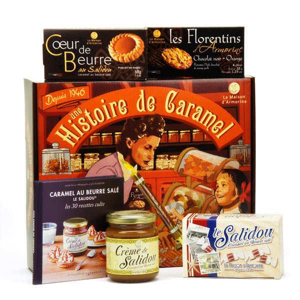 Coffret cadeau Salidou caramel au beurre salé