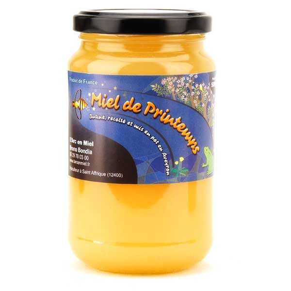 Spring honey from Aveyron district