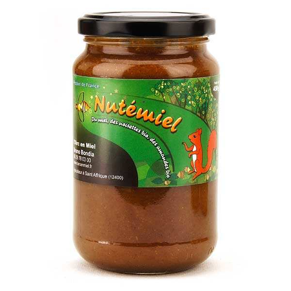Hazelnuts and honey spread from Aveyron district