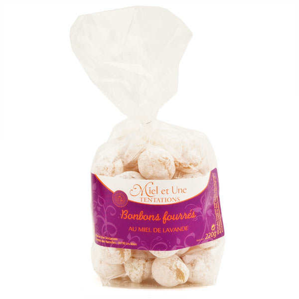 Bonbons fourrés au miel de lavande - Fabrication artisanale