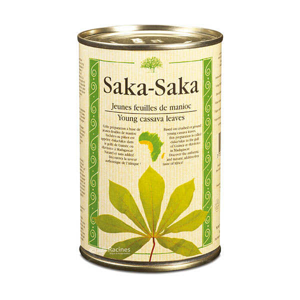 Saka Saka - young cassava leaves.