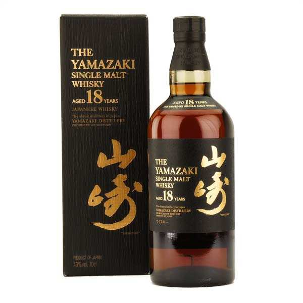 Yamazaki 18-year-old Single Malt Whisky from Japan - 43%